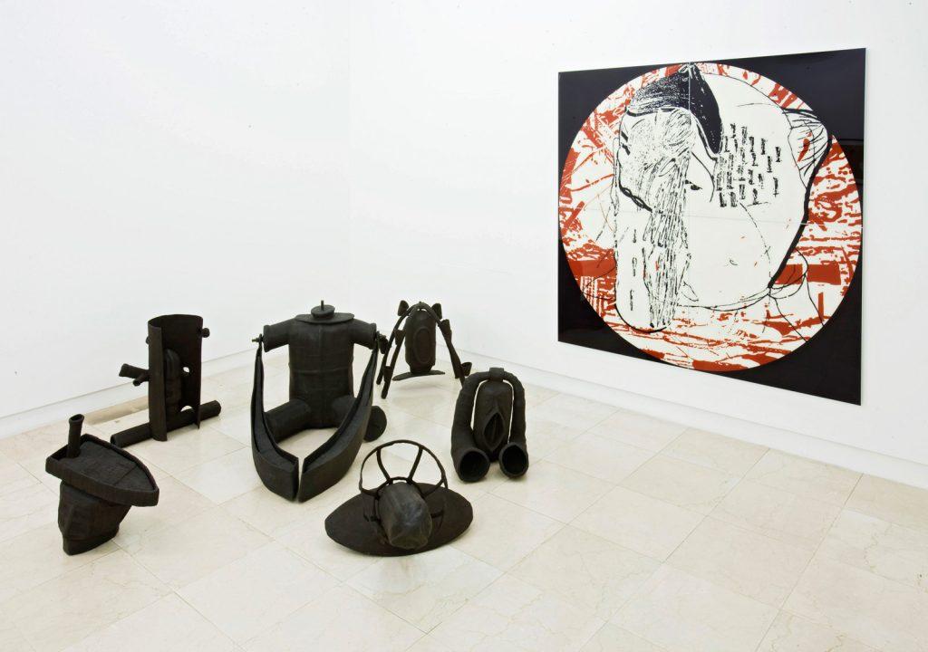 """Ausstellung hilger contemporary """"Die obskuren Objekte meiner Begierde"""" 2010 (Foto c.schepe)"""