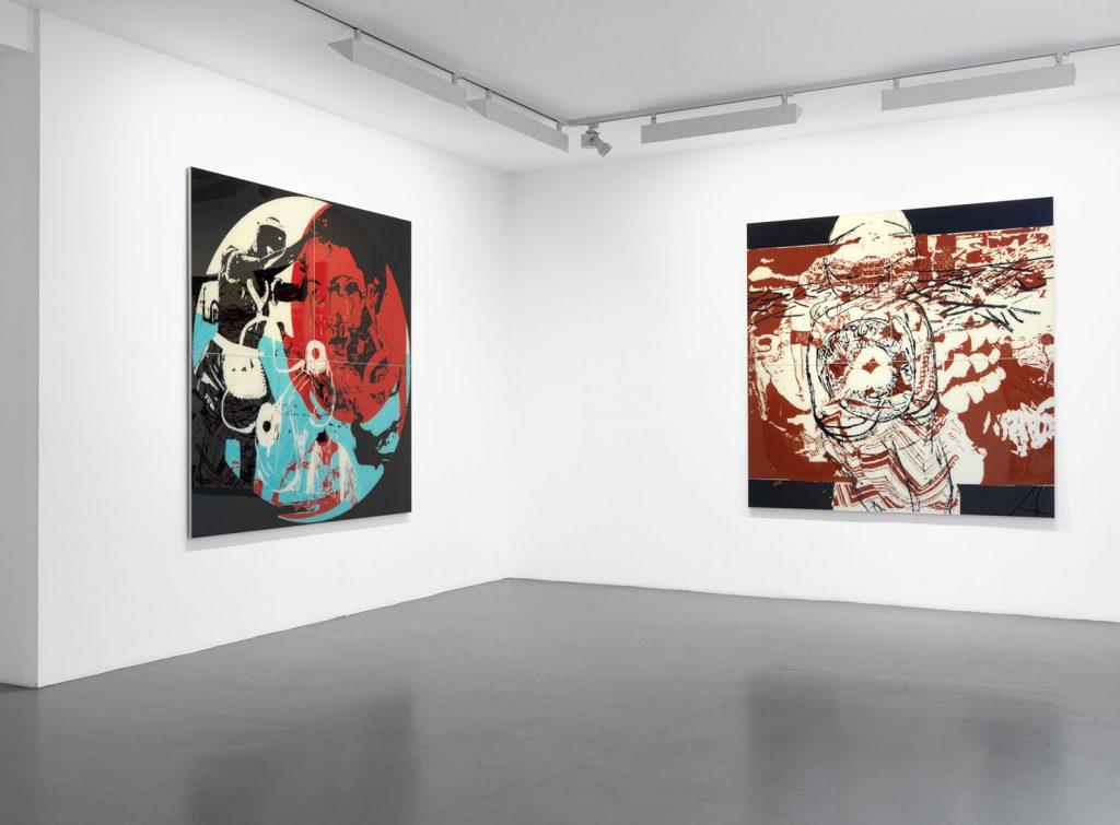 Ausstellung schultz contemporary • berlin, 2011 (Foto Bernd Borchardt)