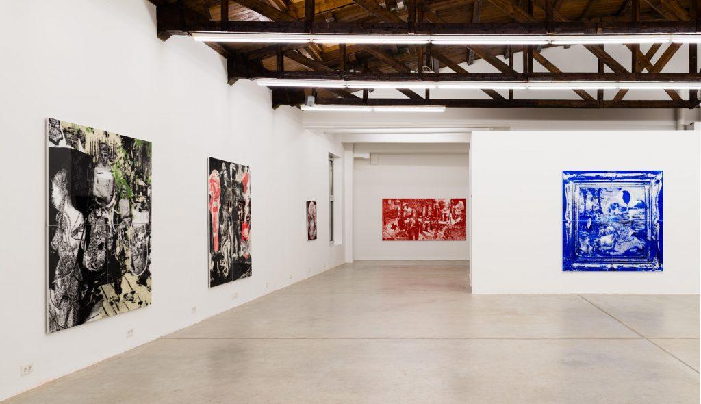 Ausstellung Wasteland, Galerie HILGERNEXT, Wien 2014 (Foto C. Schepe)